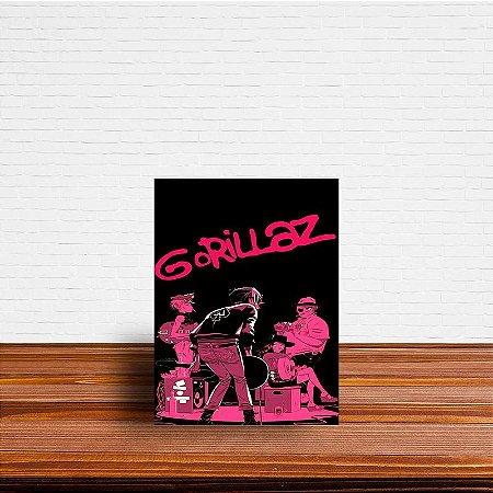 Azulejo Decorativo Gorillaz