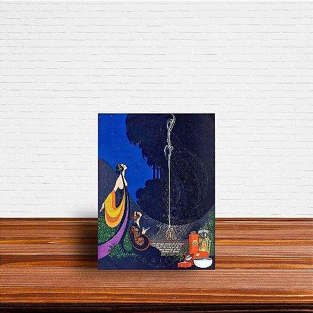 Azulejo Decorativo Frederick Little Packer Perfume Poster