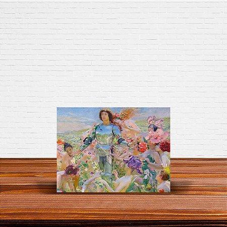 Azulejo Decorativo Knight Of The Flowers