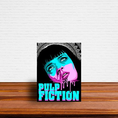 Azulejo Decorativo Pulp Fiction 1