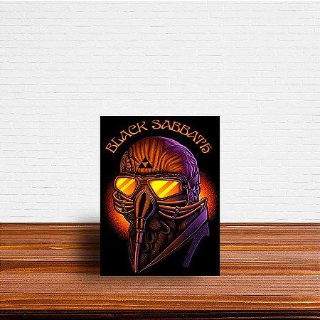 Azulejo Decorativo Black Sabbath
