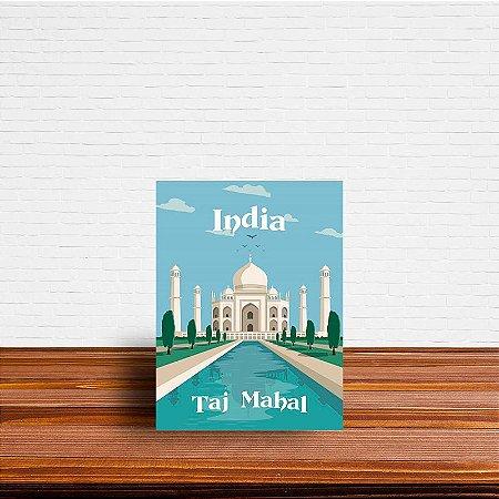 Azulejo Decorativo Taj Mahal