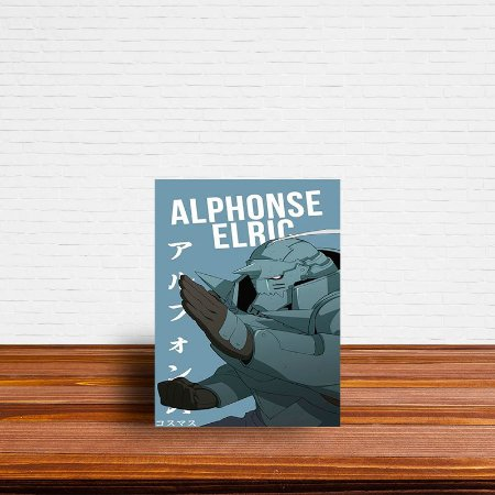 Azulejo Decorativo Alphonse Elric