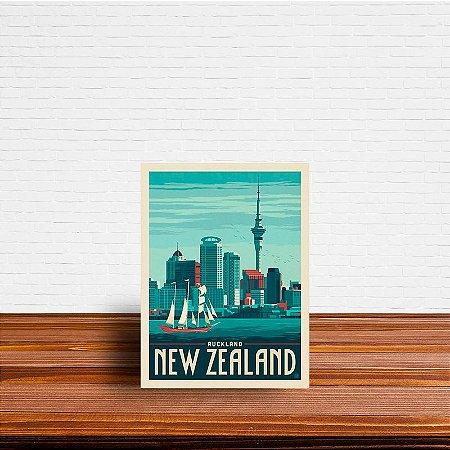 Azulejo Decorativo Nova Zelandia