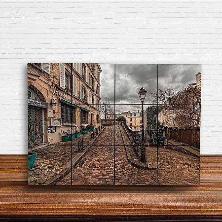 Painel Decorativo de Montmartre (França)