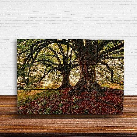 Painel Decorativo Árvores de Outono