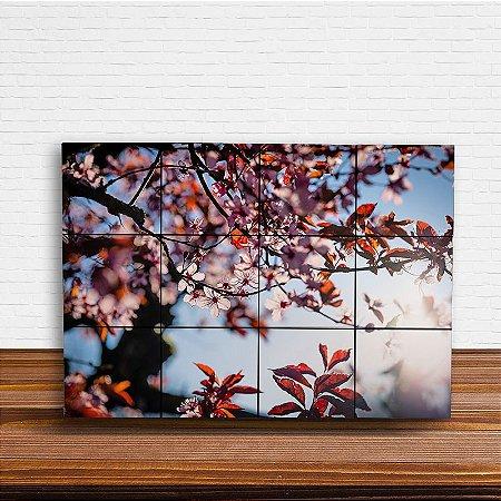 Painel Decorativo Flores de Cerejeira