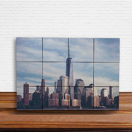 Painel Decorativo World Trade Center (New York)
