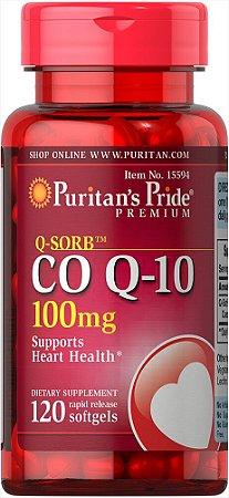 Q-SORB Coenzima Q-10 100 mg Puritan's Pride 120 Softgels