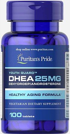 DHEA 25 mg Puritan's Pride 100 Tabletes