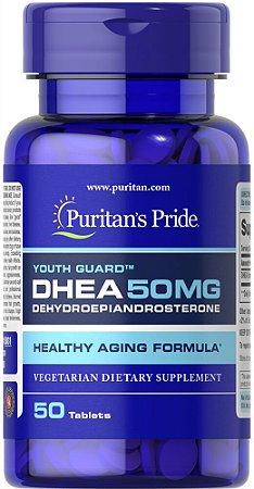 DHEA 50 mg Puritan's Pride 50 Tabletes