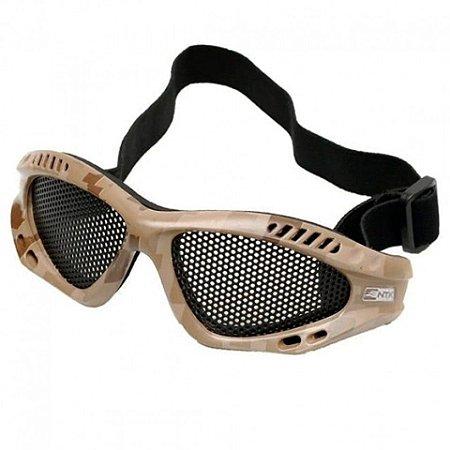Óculos de Proteção Airsoft Desert - NTK