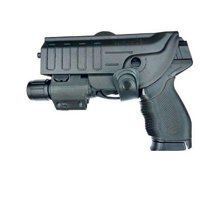 Coldre Para Pt24/7-840-838 Ou Glock Com Lanterna Ou Laser - Canhoto