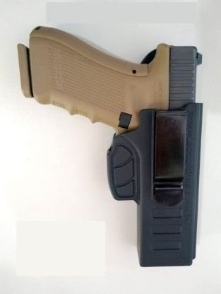 Coldre Velado Pistola Glock G17 E G22 Canhoto