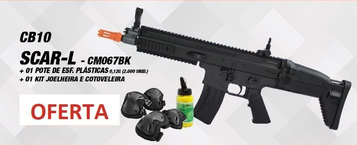 Rifle de Airsoft AEG Scar Labs CM067 - Cyma