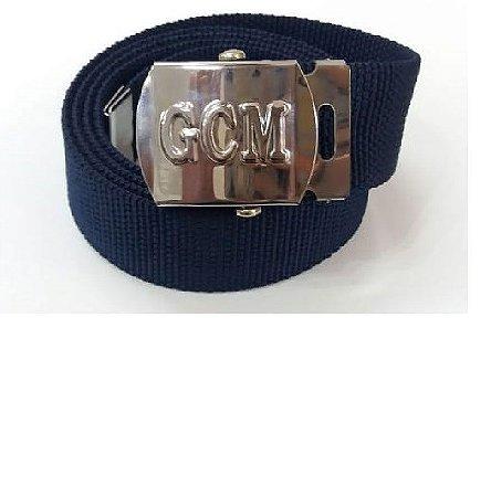 Cinto c/ fivela GCM - Azul