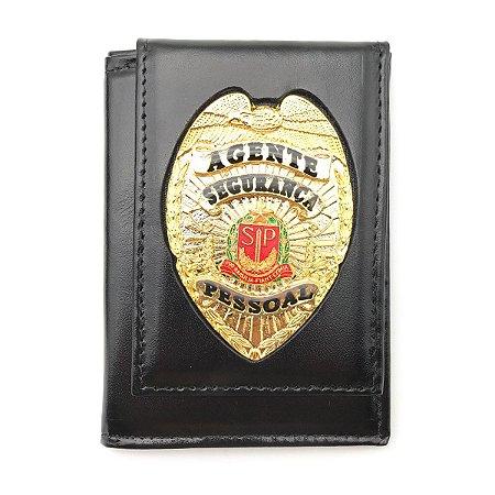 Carteira Porta Funcional Agente De Segurança Pessoal