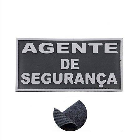 Placa Identificadora Emborrachada Para Costa Do Colete Agente De Segurança