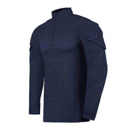 Camisa De Combate Operator Azul Gcm