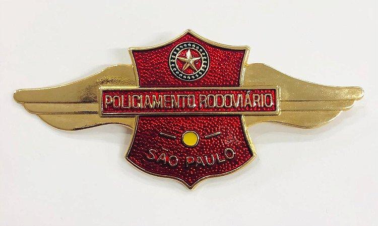 BREVE DE METAL POLICIA RODOVIÁRIA