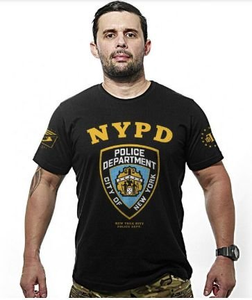 CAMISETA TEAMSIX NEW YORK CITY POLICE DEPARTMENT