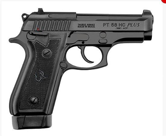 Pistola Taurus PT 58 HC Plus Oxidado Fosco