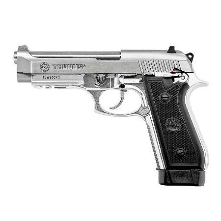 Pistola Taurus PT 59 S INOX FOSCO