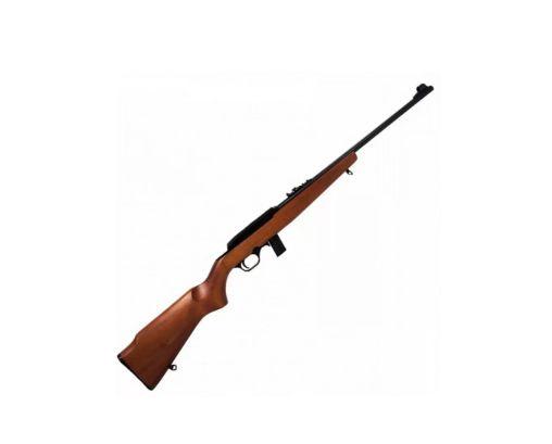 """Rifle CBC 7022 - Cal. 22LR - 10 Tiros - Cano 21"""" - Coronha Madeira - SEMIAUTOMÁTICO - Oxidado"""