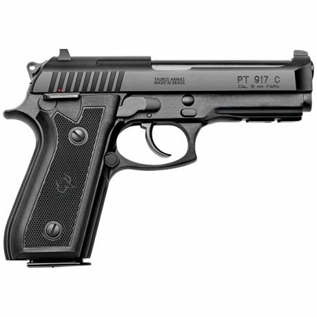 "PIST TAURUS 9MM 917/17 4"" CARBONO FOSCO"