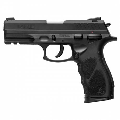 "PIST TAURUS 9MM TH9/17 5"" CARBONO FOSCO"