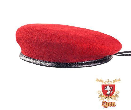 Boina Lyon Vermelha