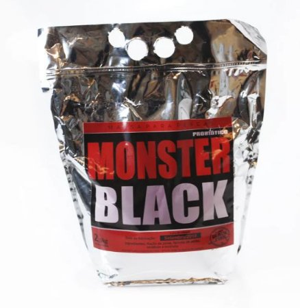 MASSA BLACK FISH - MONSTER BLACK 2,5KG