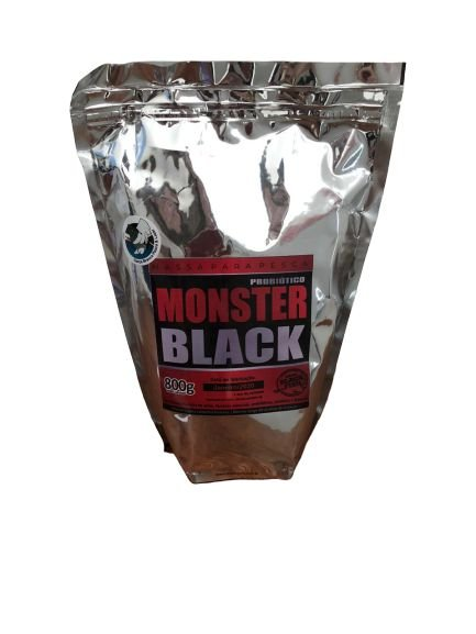MASSA BLACK FISH - MONSTER BLACK 800GRS (PROBIÓTICO)