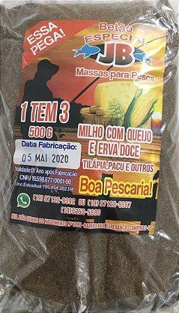 MASSA ESPECIAL JRB - MILHO COM QUEIJO E ERVA DOCE 500GR