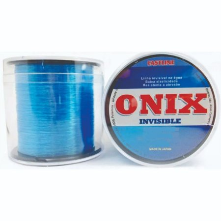 LINHA FASTLINE ONIX INVISIBLE 0,330MM 500M AZUL