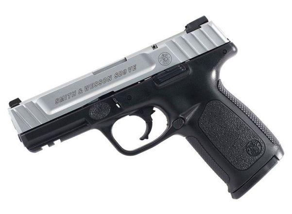 """Pistola Smith & Wesson SD 9 VE 4"""" 16 Tiros."""
