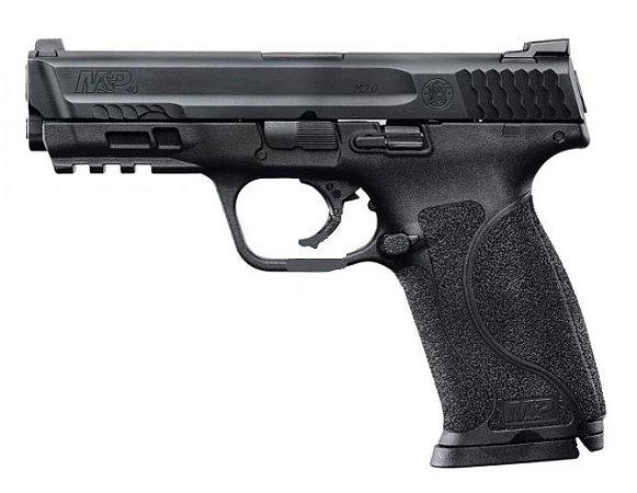 Pistola Smith & Wesson M&P40 M2.0 LE Cal. .40S&W Oxidada 15 Tiros