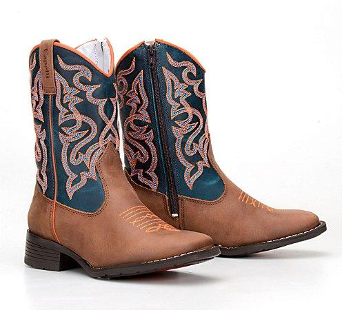 d8887dda7b Texana Country Infantil Bico Quadrado - Loja M.C. Ranch