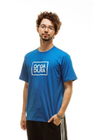 Camiseta Azul Logo Oficial