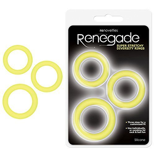 Kit de Anéis Penianos Diversity Rings Renegade