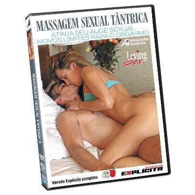 DVD - Massagem Sexual Tântrica