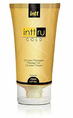 Gel para massagem Intt Ru Gold