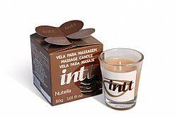 Vela Beijável para Massagem Nutella Intt 30g