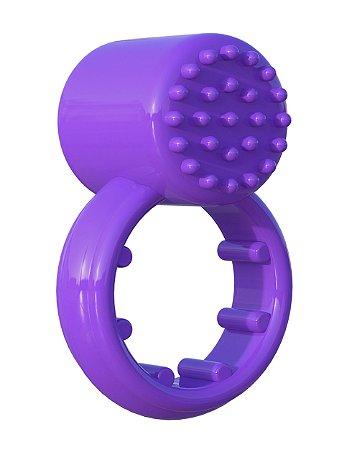 Anel Peniano Vibratório Sensual Touch Love Ring Fantasy C-Ringz Roxo