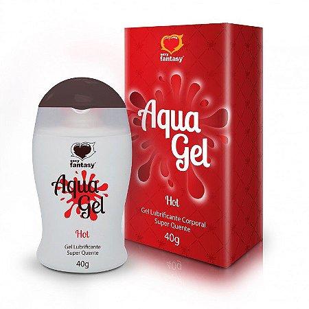Lubrificante Aromático Hot Aquagel - 40g