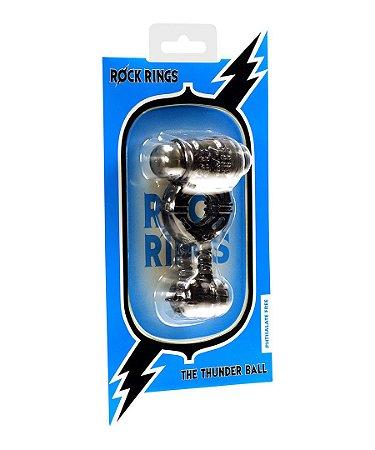 Anel Peniano vibratório - The Thunder Ball - Rock Rings