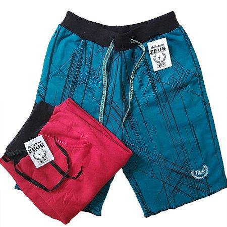 95c2bc5f2 Bermuda Shorts Moletom Masculino Slim Fit Bermuda Shorts - 7zeus ...