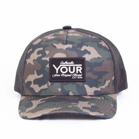 Boné Trucker Camuflado Your Face The Cammo