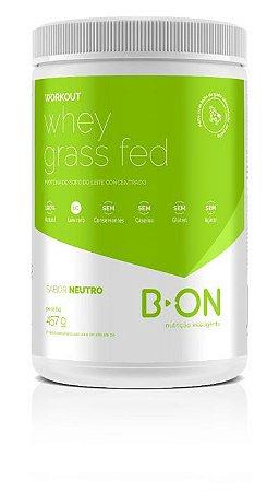 Workout Whey Protein Grass Fed Neutro 457g B-On