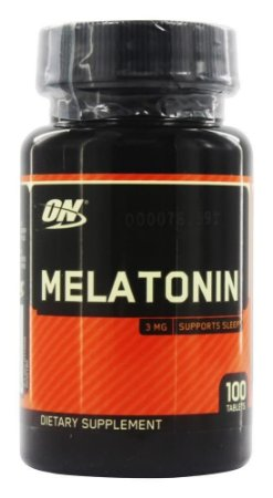 Melatonina 3mg 100 Comprimidos Optimum Nutrition